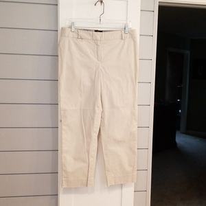 Talbots cropped pants size 8